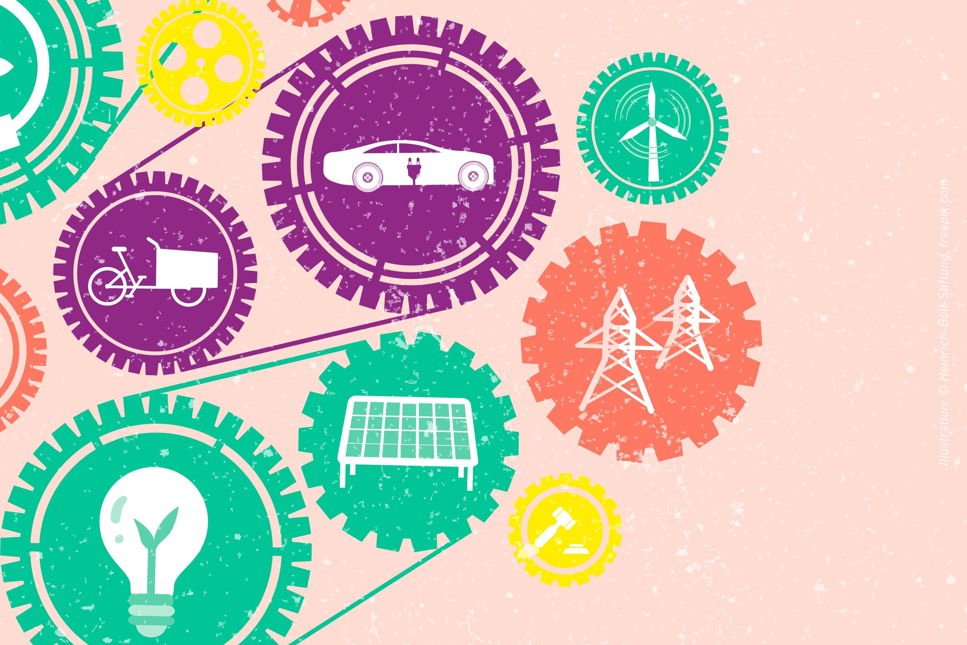 Baustelle zeichnung  Baustelle Energiewende / Work in Progress: Energy Transition